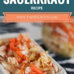 easy sauerkraut pin