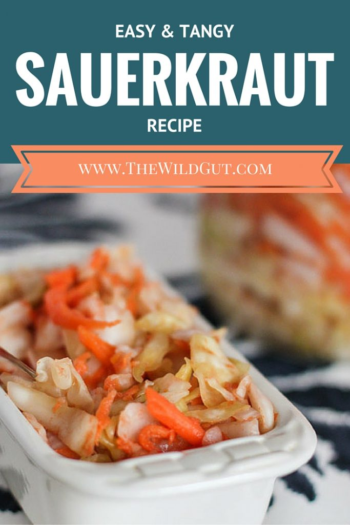 easy sauerkraut pin