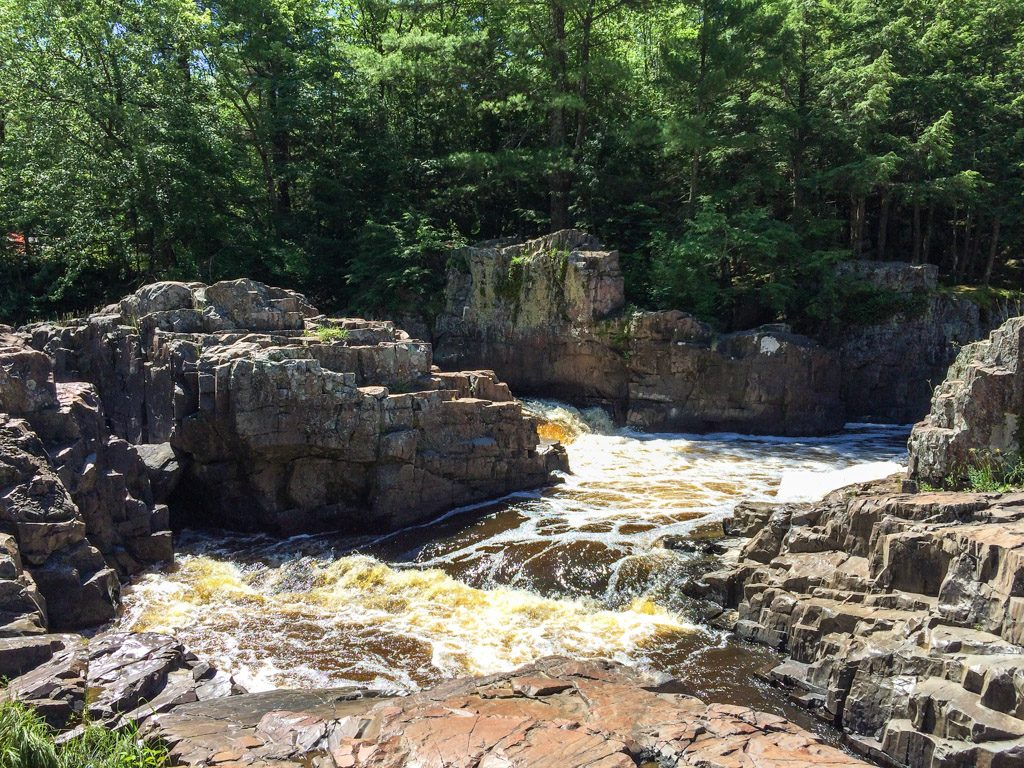 Dells of the Eau Claire near Wausau, Wisconsin