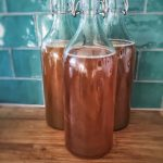 Flip top bottles for Kombucha