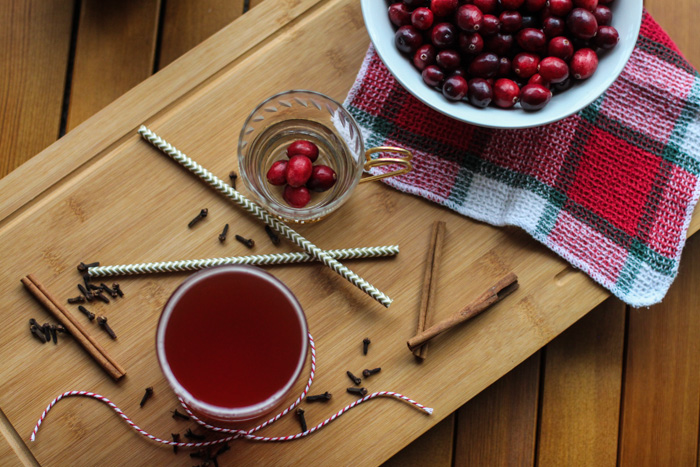 Our cranberry spiced kombucha is perfect for bringing to your next holiday gathering!