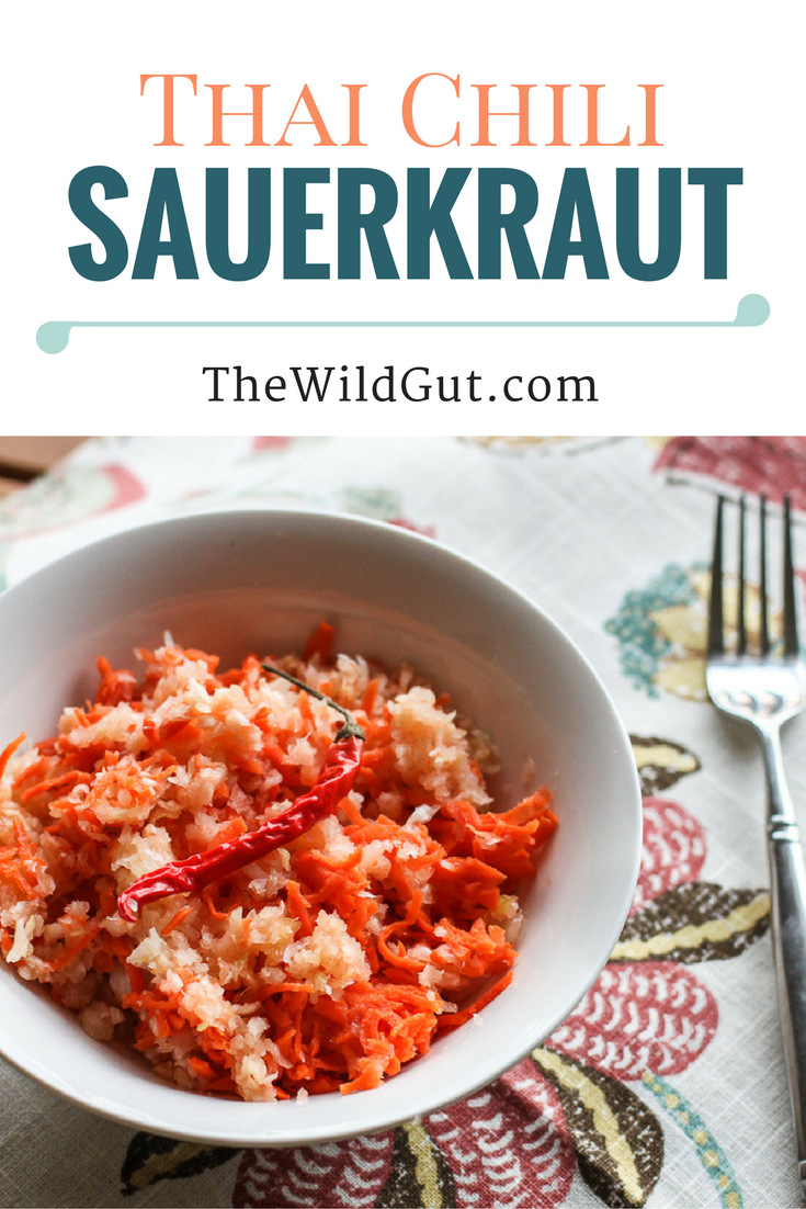 Thai Chili Sauerkraut