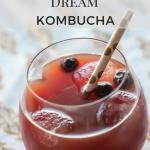 Blueberry Vanilla Dream Kombucha from The Wild Gut!