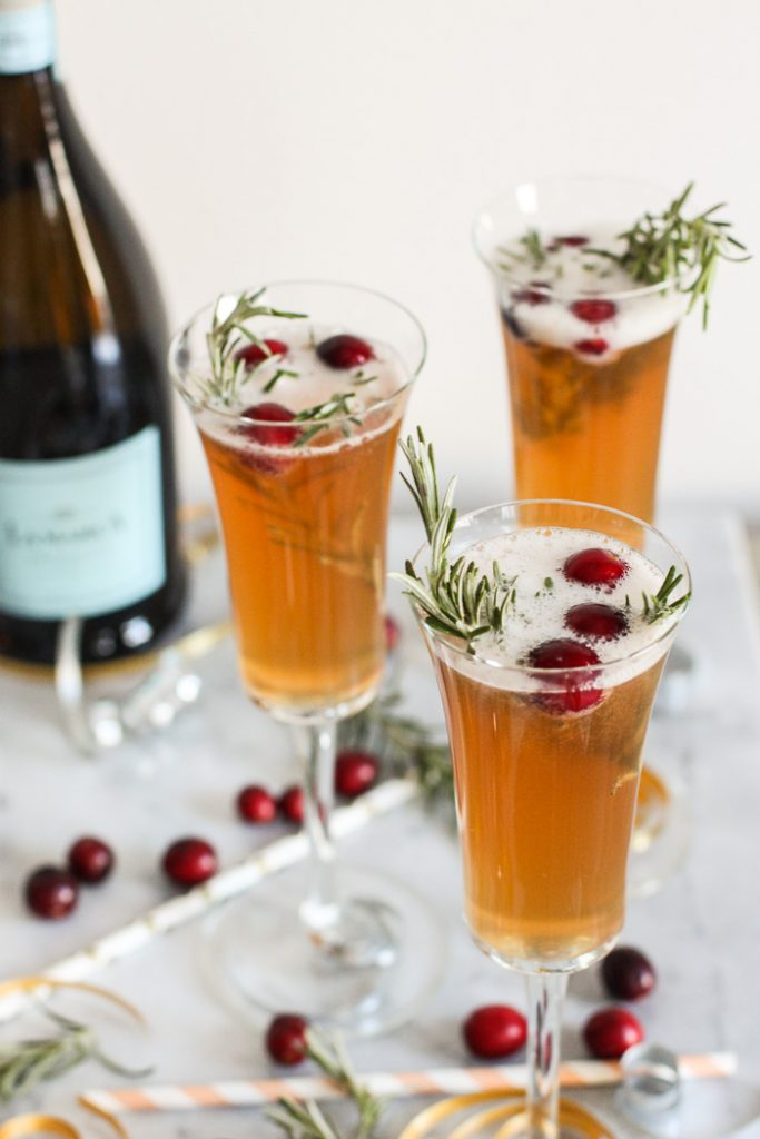 Champagne Kombucha Cocktail