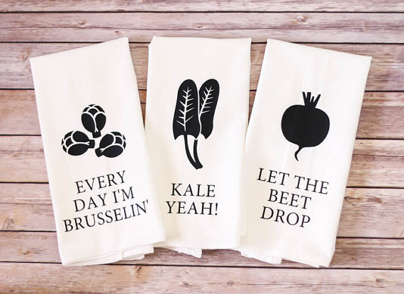 Funny Foodie Tea Towels!