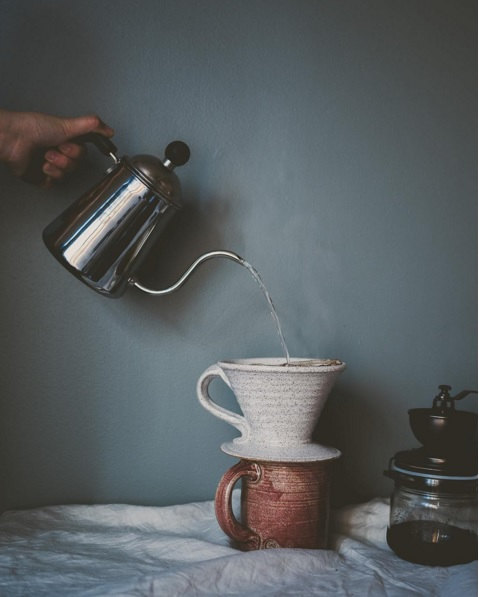 Handmade Coffee Pour Over Set from Ogusky Ceramics