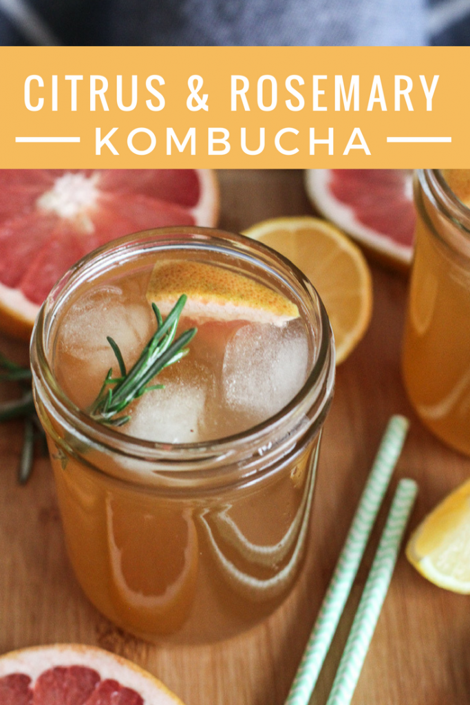 Citrus and Rosemary Kombucha from The Wild Gut