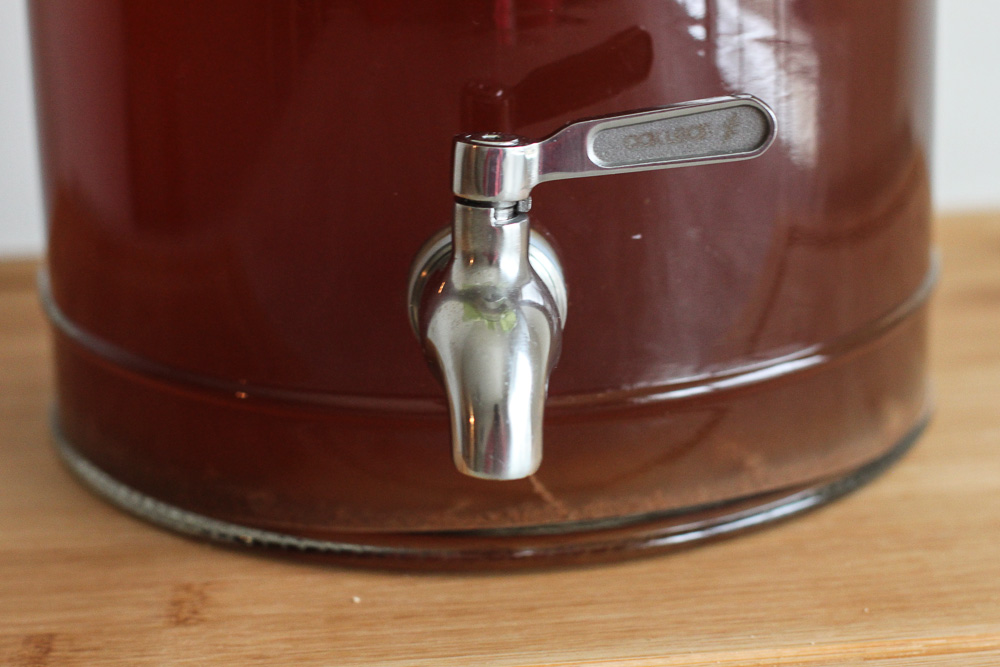 Continuous brew kombucha replacement spigot