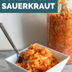 Ginger and Turmeric Superfood Sauerkraut!