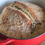 Delicious Dutch Oven Sourdough Bread!