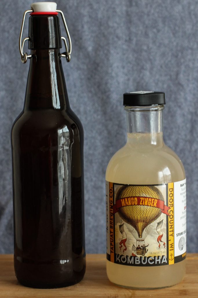 Bottle options for water kefir