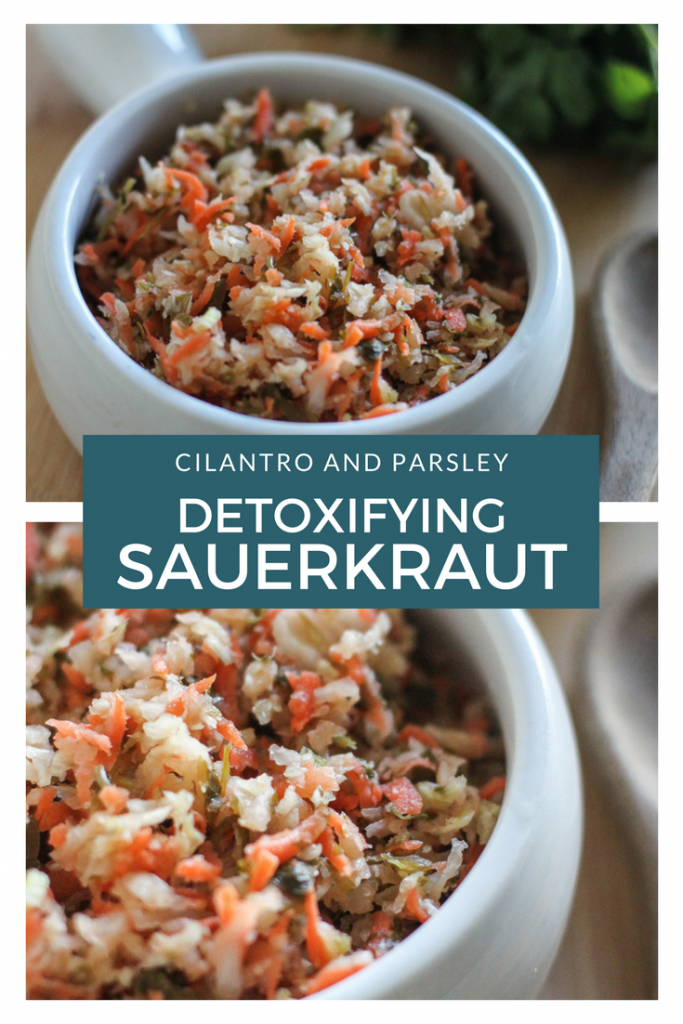 Detoxifying Sauerkraut Recipe