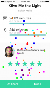 Aaptiv workouts with weights