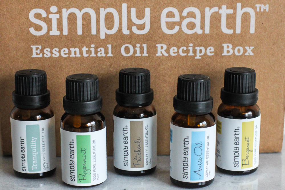 Pure therapeutic grade essential oils from Simply Earth!