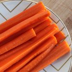 Ginger and Turmeric Fermented Carrot Sticks