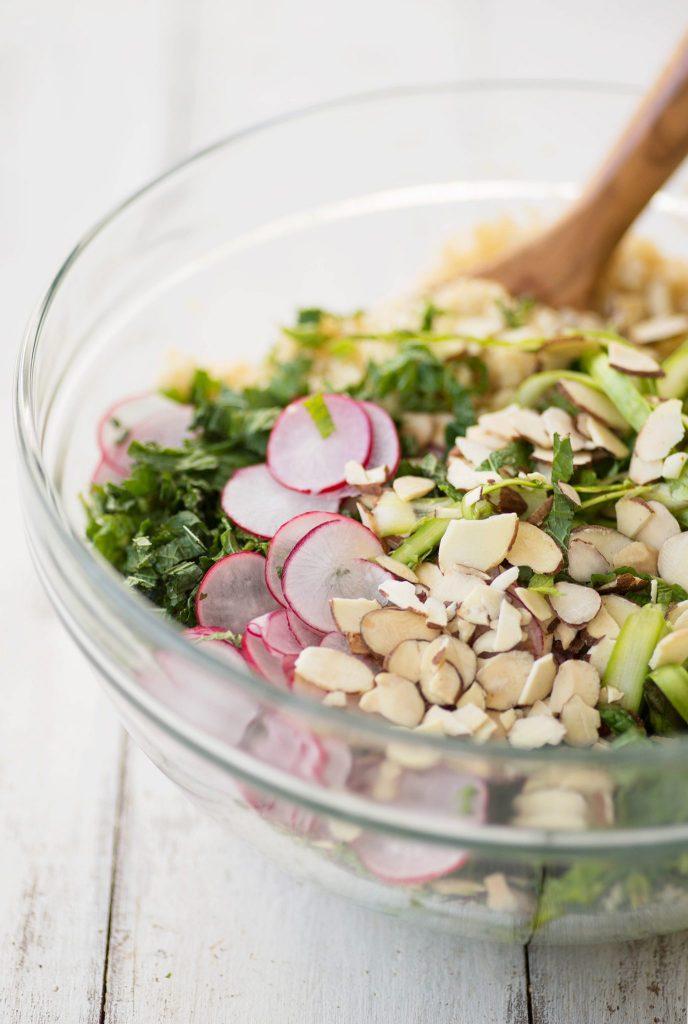 Shaved Asparagus Spring Salad
