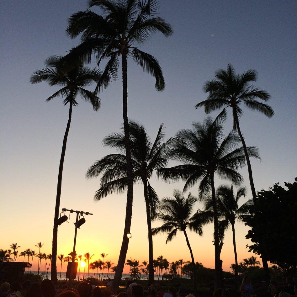 Luau at the Marriott on the Big Island Hawaii