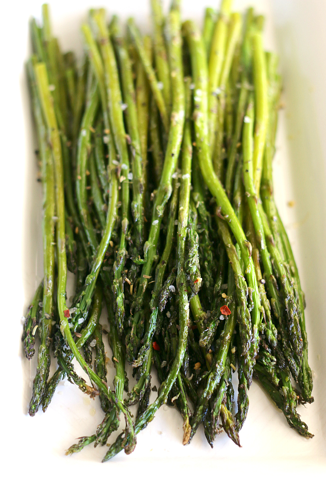 Brown Butter Asparagus