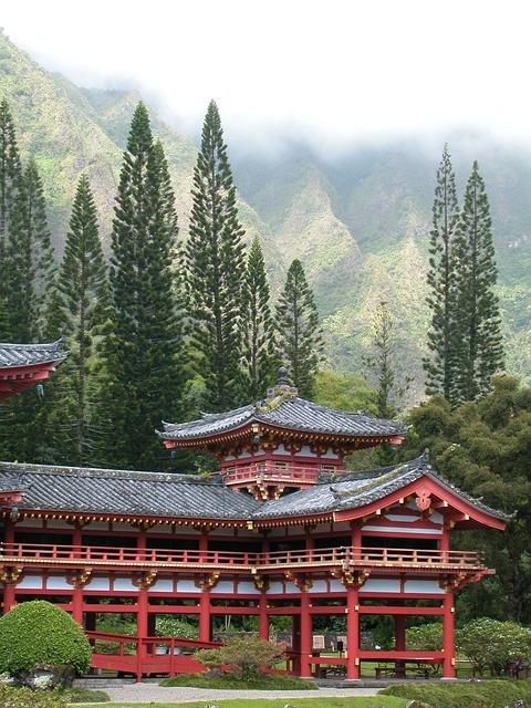 Byodo-In Temple in Oahu, Hawaii!