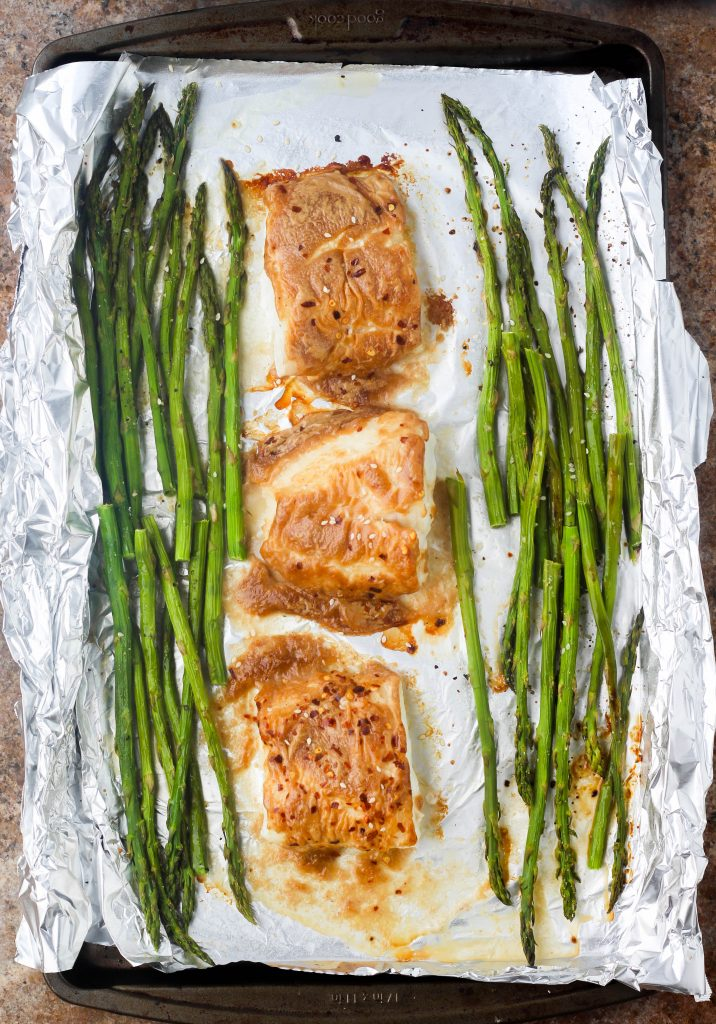 Sheet Pan Cod & Asparagus Recipe