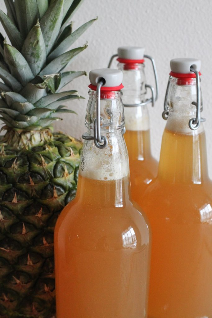 Glass bottles that work great for home kombucha brewing!