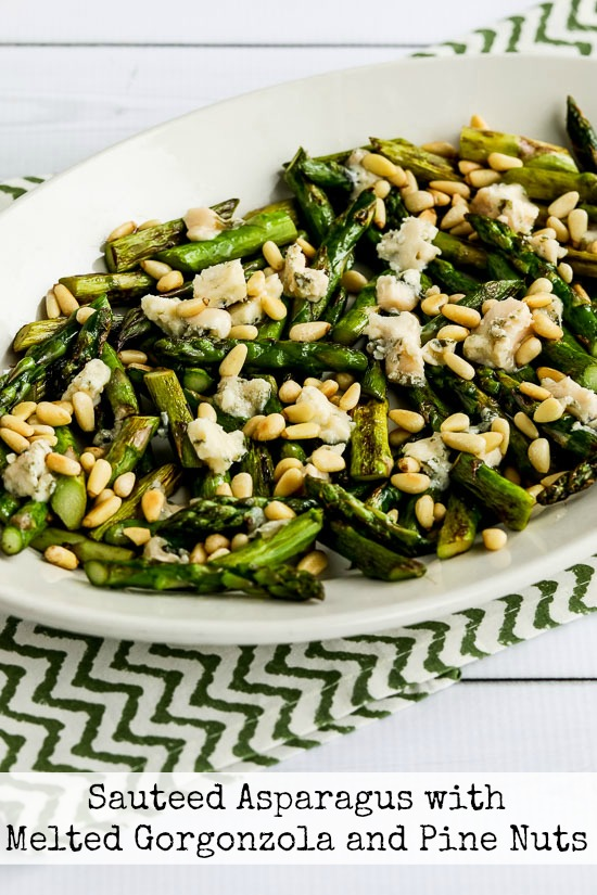Sauteed Asparagus Gorgonzola