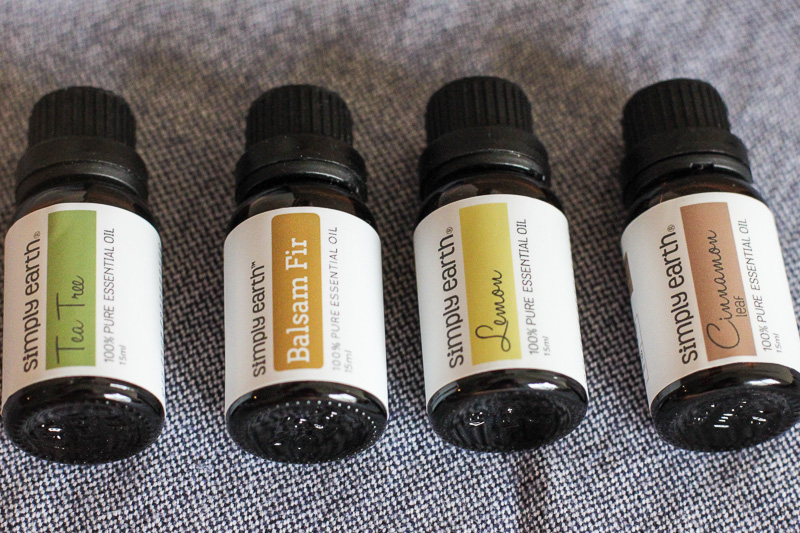 Simply Earth Essential Oils from their Subscription Box