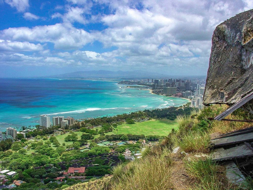 view from diamond head - photo #6