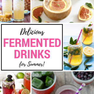Delicious Fermented Drinks for summer!