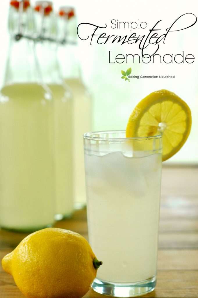 Simple Fermented Lemonade Recipe!