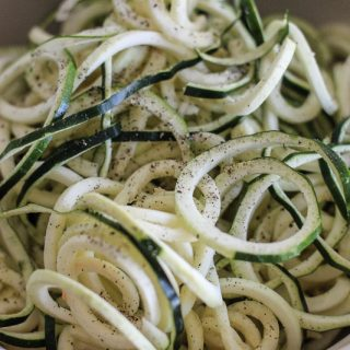 Fermented zoodles recipe!