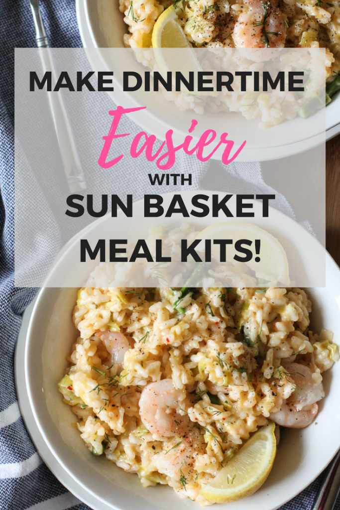 Make dinnertime easier with Sun Basket Meal Kit Delivery Service