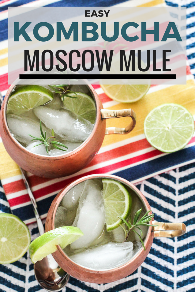 Easy Kombucha Moscow Mule Recipe!