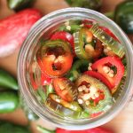 Simple recipe for fermented jalapenos