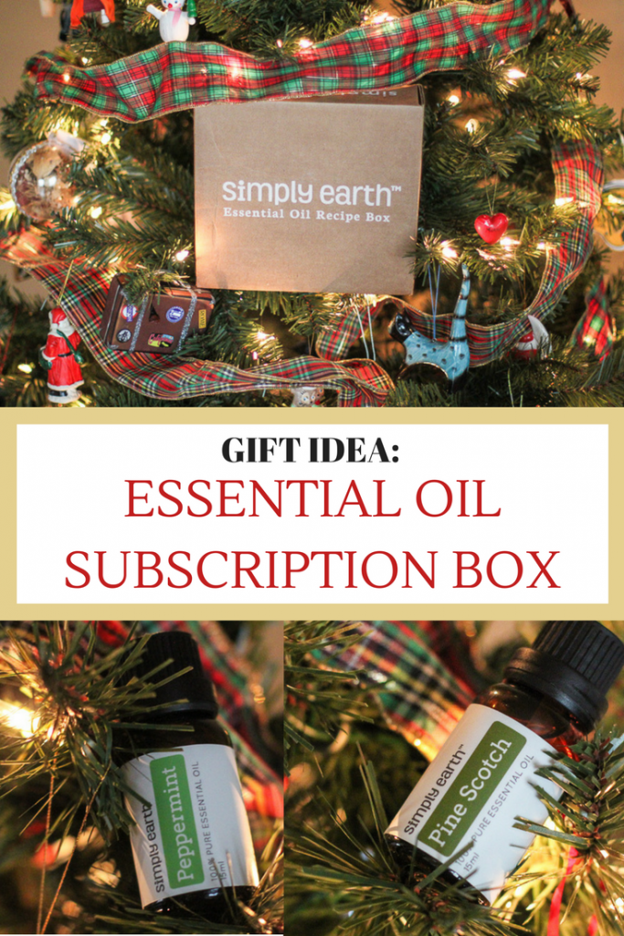 Holiday Gift Idea: Essential Oil Subscription Box!