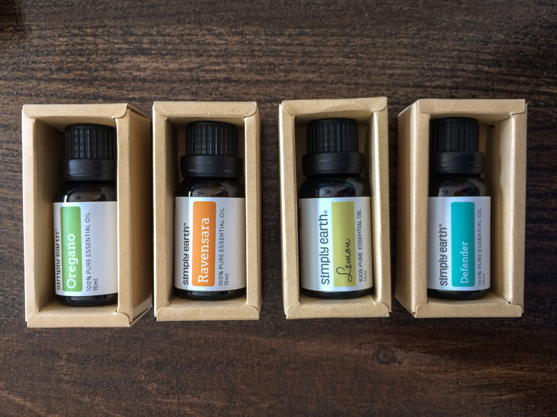 Beat winter sickness with Essential Oils from Simply Earth