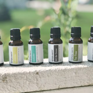 Easy beginners guide to cleaning with essential oils. Use these essential oils to make natural cleaning products for your home. This guide will get you started with easy recipes for home cleaning products featuring essential oils.