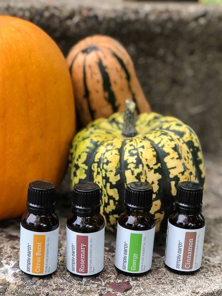 Halloween themed Essential Oil Recipe Box from Simply Earth