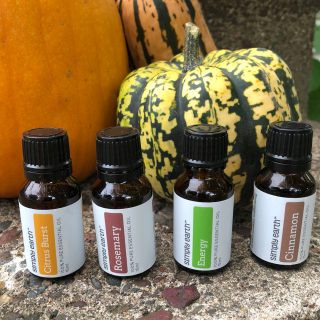 Halloween Essential Oil Recipe Box from Simply Earth